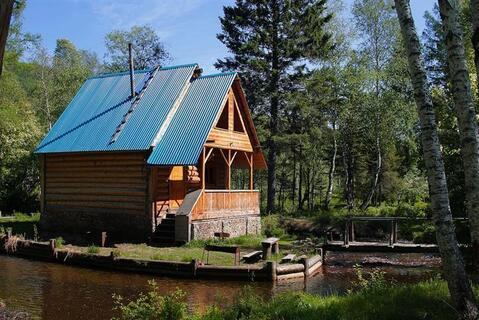 Земельный участок в поселке Листвянка, у реки Крестовка - Фото 2