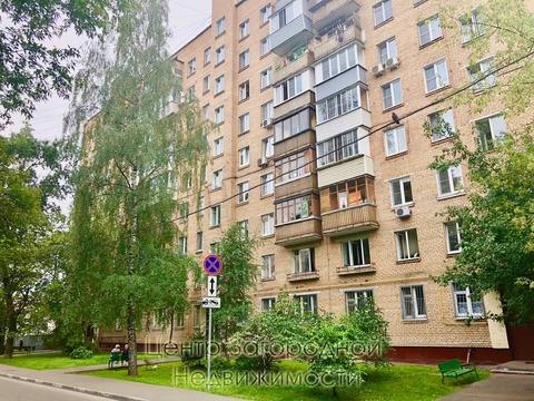 Трехкомнатная Квартира Москва, улица 2-я Прогонная, д.11, . - Фото 1