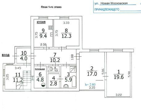 Продажа кирпичного дома 2-х эт. в г. Красногорске - Фото 5