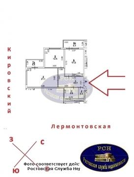 ЖК «Лермонтов», дом сдан 2017 г, двухкомнатная квартира. - Фото 2