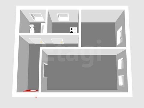 1 500 000 Руб., Продажа двухкомнатной квартиры на улице Свердлова, 65 в Стерлитамаке, Купить квартиру в Стерлитамаке по недорогой цене, ID объекта - 320178000 - Фото 1