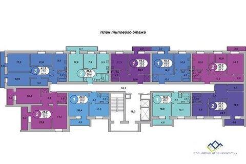 Продам 1-тную квартиру Шаумяна 122, 14 эт, 48,6 кв.м.цена2150 т.р - Фото 1