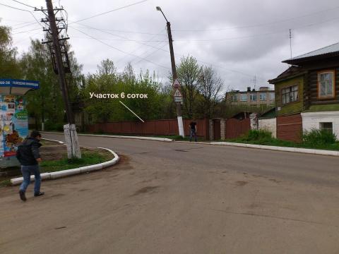 Земельный участок 6 соток на Волге в г. Плес - Фото 1
