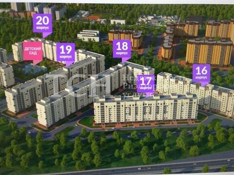 Квартира-студия, Мебельной фабрики, ул Рассветная, к17 - Фото 4
