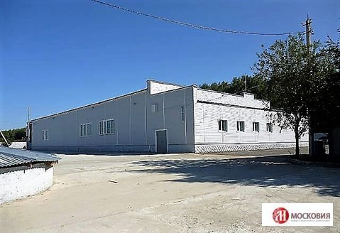 Производственно-складское помещение на трассе м4, Белые столбы - Фото 1
