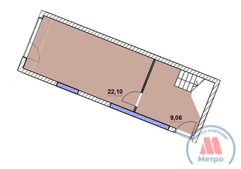 Квартира, ЖК Центральный, ул. Победы, д.21 к.А - Фото 2