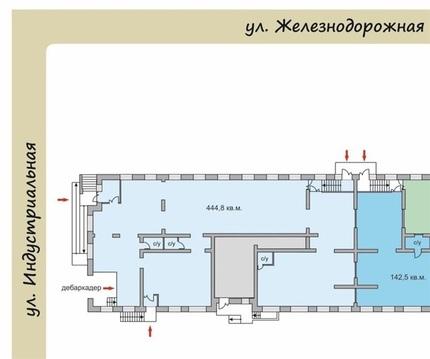 Торговое помещение по адресу Железнодорожная 22 (ном. объекта: 1255) - Фото 1