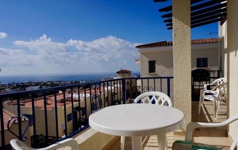 Трехкомнатный Апартамент с прекрасным видом на море в районе Пафоса - Фото 1