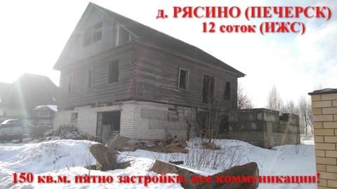 Просторный-деревянный дом, на 12 сотках со всеми коммуникациями - Фото 1
