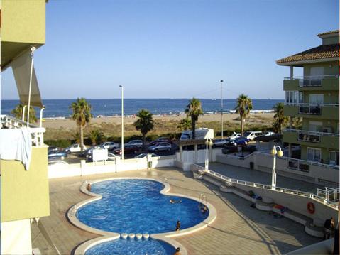 Квартира в Веникасиме, первая линия у пляжа - Фото 1