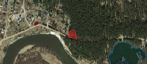 Продается участок 12 сот. в соснах на берегу Угрыв 18 км от Калуги! - Фото 3