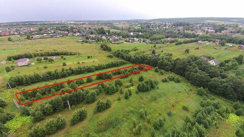 Земельный участок 21,58 сот. в д. Гаврино Шаховского района для лпх - Фото 2