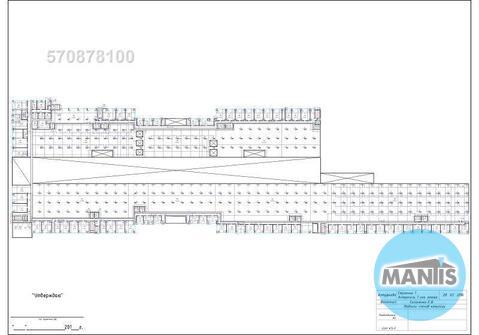 1 этаж – 798,3 м2 (соседнее помещение у блока 1378,9 м2), отапливаемое - Фото 3