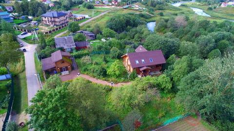 Гатчинский район, п. Лукаши, 19 соток ИЖС + дом 160м+баня+гостевой дом - Фото 2