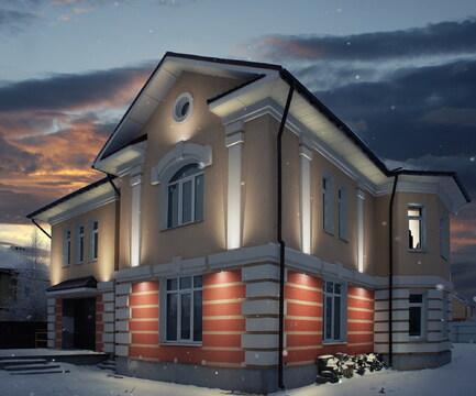 Современный коттедж в пригороде Рязани с. Александрово - Фото 1