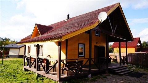 Двухэтажный коттедж с банным комплексом в дер. Раздолье - Фото 1