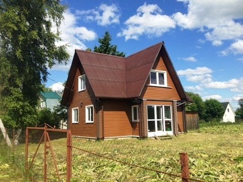 Дом из клеёного бруса, участок 30 соток, Рузский городской округ - Фото 1