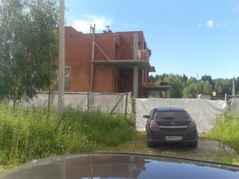 Ждп-563 зу 12 сот + дом недострой д.Талаево - Фото 1
