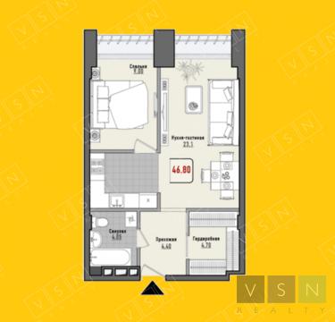 9 794 500 Руб., Продается квартира г.Москва, Проспект Мира, Купить квартиру в Москве по недорогой цене, ID объекта - 320733938 - Фото 1
