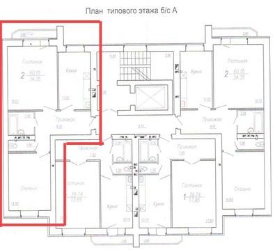 2 комн. квартира Пономарева,27/ 4жилучасток - Фото 2