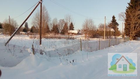 Хороший земельный участок с жилым домиком в 100 м. от оз. Вуокса