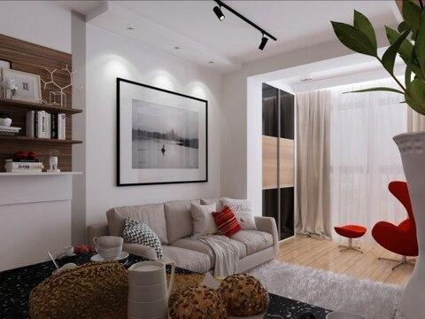 Квартира-студия в новом доме с индивидуальным отоплением - Фото 3