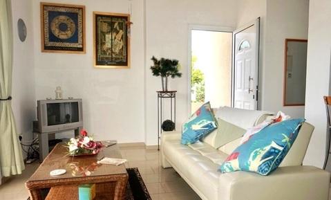 Отличная полу-отдельная двухкомнатная квартира в пригороде Пафоса - Фото 3