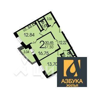 Продам 2-к квартиру, Москва г, улица Лобачевского 118к5 - Фото 1