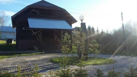 Сдается 2-х этажный деревяный дом 220 кв.м. д. Шилово, Боровский район - Фото 2
