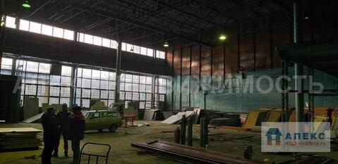 Аренда помещения пл. 1030 м2 под производство, склад, м. Семеновская . - Фото 1