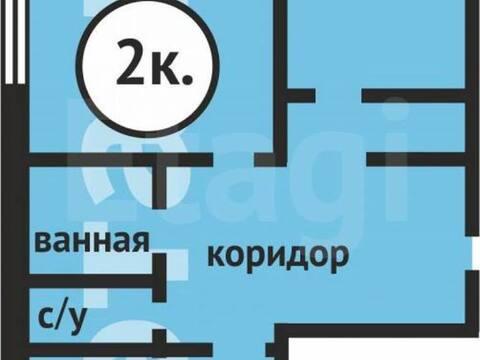 1 490 000 Руб., Продажа двухкомнатной квартиры на Инициативной улице, 105 в Кемерово, Купить квартиру в Кемерово по недорогой цене, ID объекта - 319828713 - Фото 1