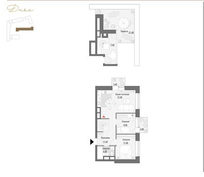Продажа квартиры, м. Марьина Роща, Ул. Сущёвский Вал - Фото 1