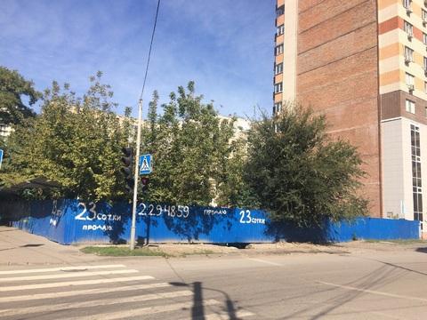 23.2 сотки с фасадом на ул.Соколова\ул.Варфоломеева-район цгб - Фото 1