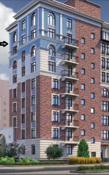 Квартира 140 м2 в ЖК «Видный город» ул. Вишневской дом 10 к.1 - Фото 2