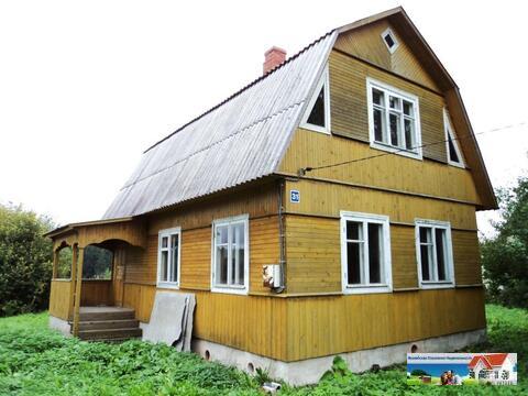Брусовой дом 100 кв. м, 21 сотка, электричество, колодец, хорошая дере - Фото 1