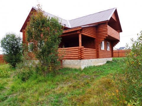 Продается новый дом с коммуникациями и газом в жилой деревне - Фото 4