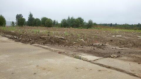 Пром. участок 50 сот на бетонке в 30 км по Киевскому шоссе - Фото 1