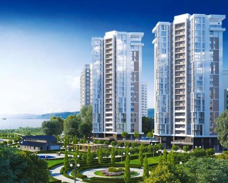 Купить квартиру 130 кв.м. на берегу черного моря в Новороссийске - Фото 1