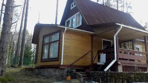 Дача 9 соток с домом 100 м2 в Приозерском р-не - Фото 1