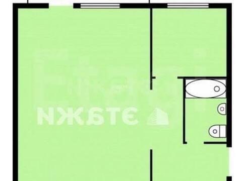 Продажа однокомнатной квартиры на Школьной улице, 8 в поселке Звездный, Купить квартиру Звездный, Кемеровский район по недорогой цене, ID объекта - 319828832 - Фото 1