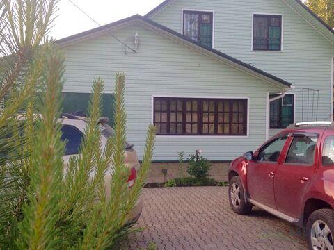 Дом 160 кв. м, баня 30 кв. м, участок 16 соток. До Москва-реки пешком . - Фото 1