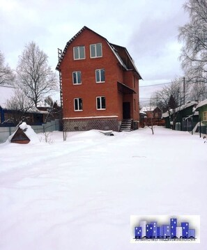 Дом 200м на уч 6 соток в д. Михайловка - Фото 1