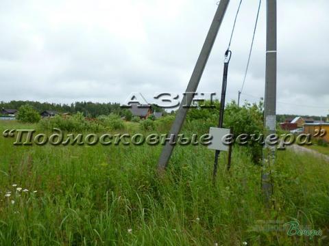 Новорижское ш. 53 км от МКАД, Веретенки, Участок 12 сот. - Фото 1