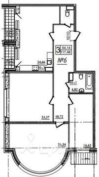 Продаю3комнатнуюквартиру, Назрань, Московская улица, 28, Купить квартиру в Назрани по недорогой цене, ID объекта - 323071465 - Фото 1