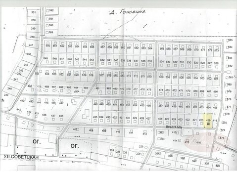 Продажа участка, Головина, Тюменский район - Фото 3