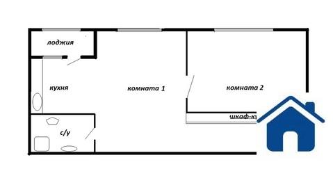 2-квартира с лоджией. Подлесная,3а - Фото 2