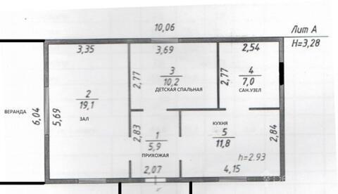 Продам дом 54 кв.м, г. Хабаровск, пер. Мирный (Авиагородок) - Фото 2