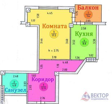 Квартира, город Херсон, Купить квартиру в Херсоне по недорогой цене, ID объекта - 314924251 - Фото 1