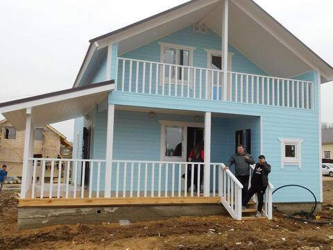 Дом Дача для большой семьи дом из бруса 150 мм «под ключ» Киевское ш - Фото 1