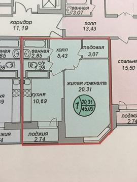 Продается однокомнатная квартира квартира